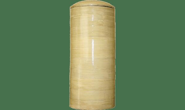 URNE BAMBOU - CYLINDRE - BEIGE